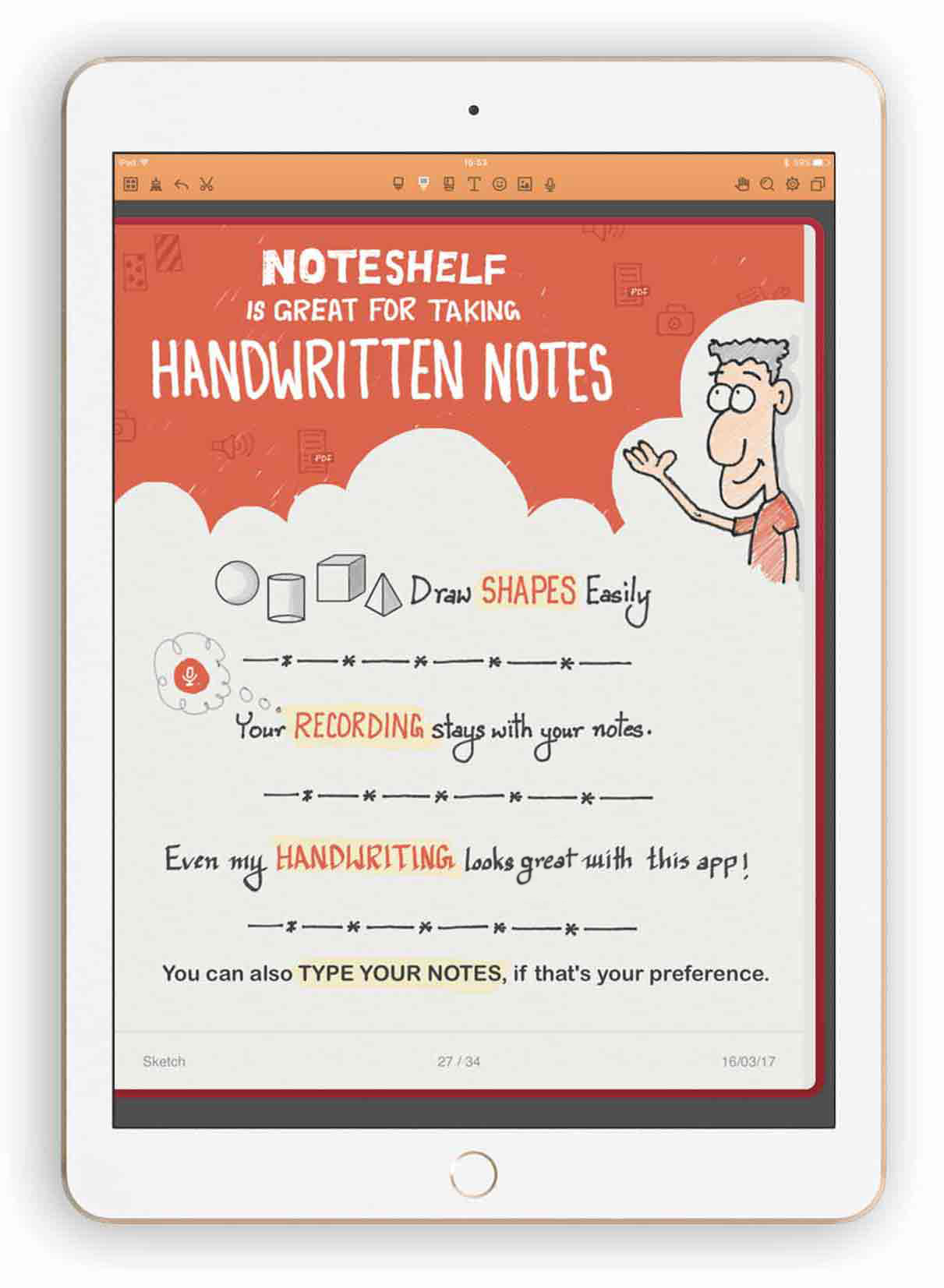 noteshelf ipad